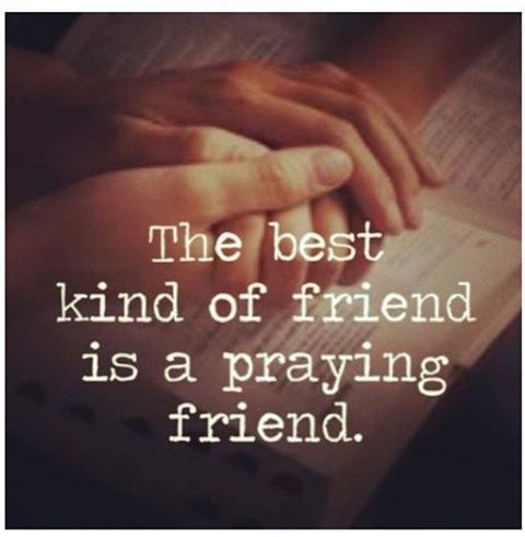 praying-friend