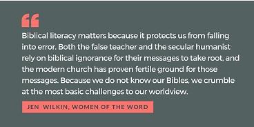 bible literacy matters